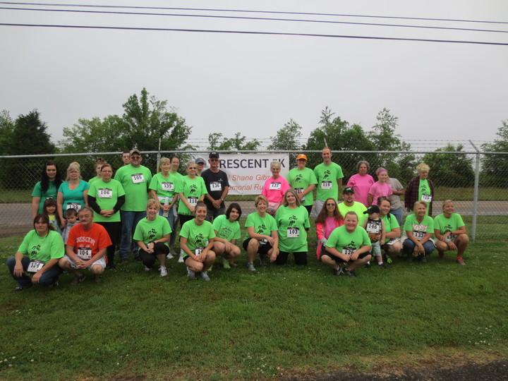 Our 3rd Annual Shane Gibson Memorial 5k T-Shirt Photo