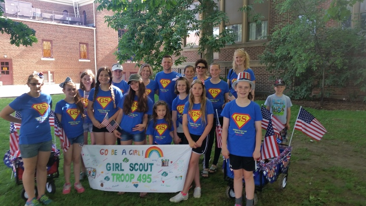 Medina, Oh Girl Scout Troop #495 T-Shirt Photo