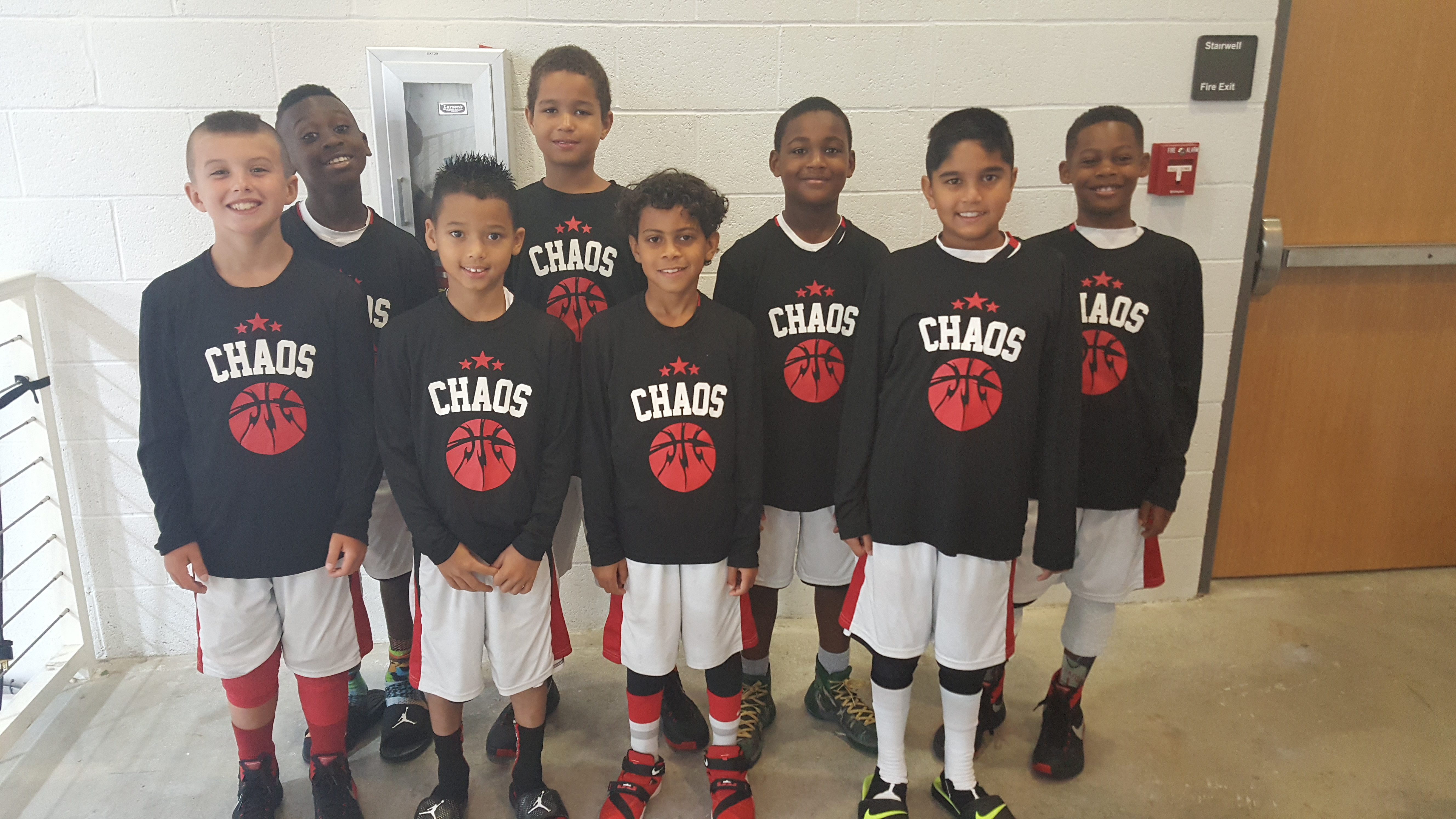 Custom T-Shirts for Orlando Chaos Aau 9 U Basketball Team - Shirt ...
