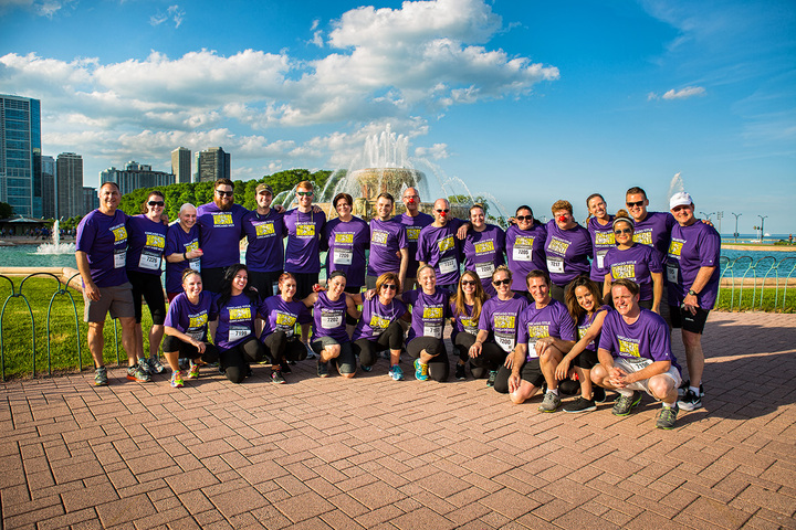 J.P. Morgan Corporate Challenge Chicago T-Shirt Photo