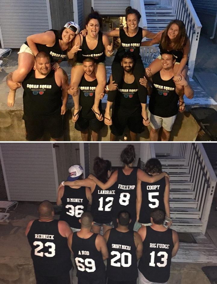 Squan Squad T-Shirt Photo