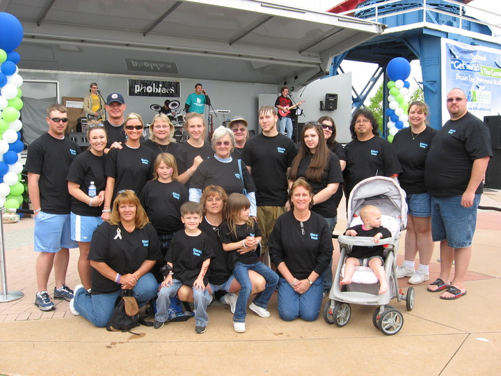 Kiara's Team Khg Brain Tumor Walk T-Shirt Photo