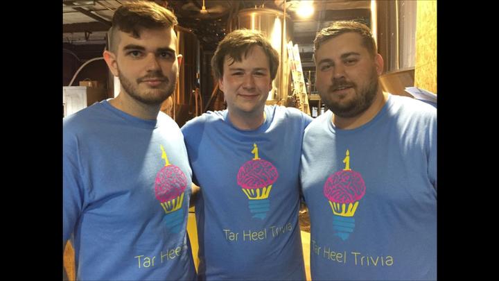 The Tar Heel Trivia Team T-Shirt Photo