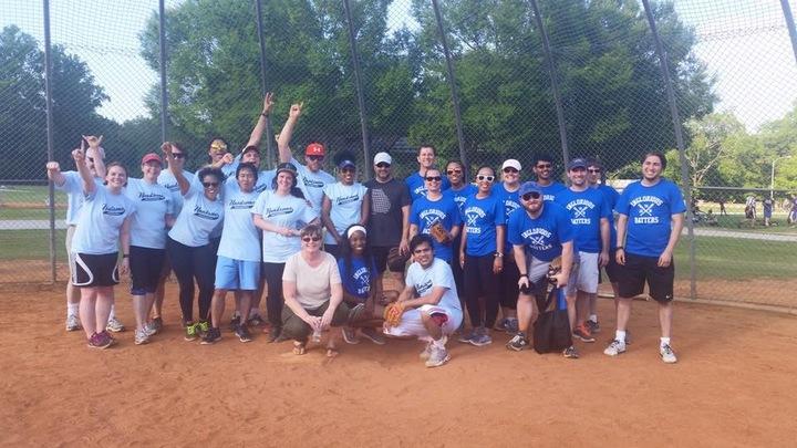 Talent Quest Softball Match T-Shirt Photo