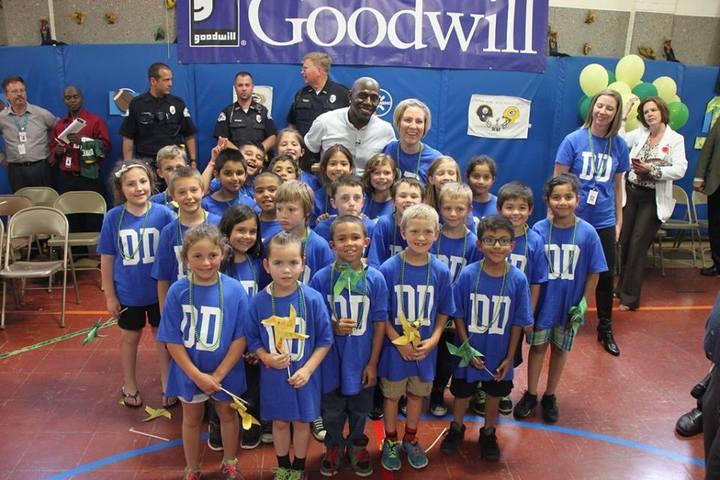 Wileman School Wins Goodwill Challenge T-Shirt Photo
