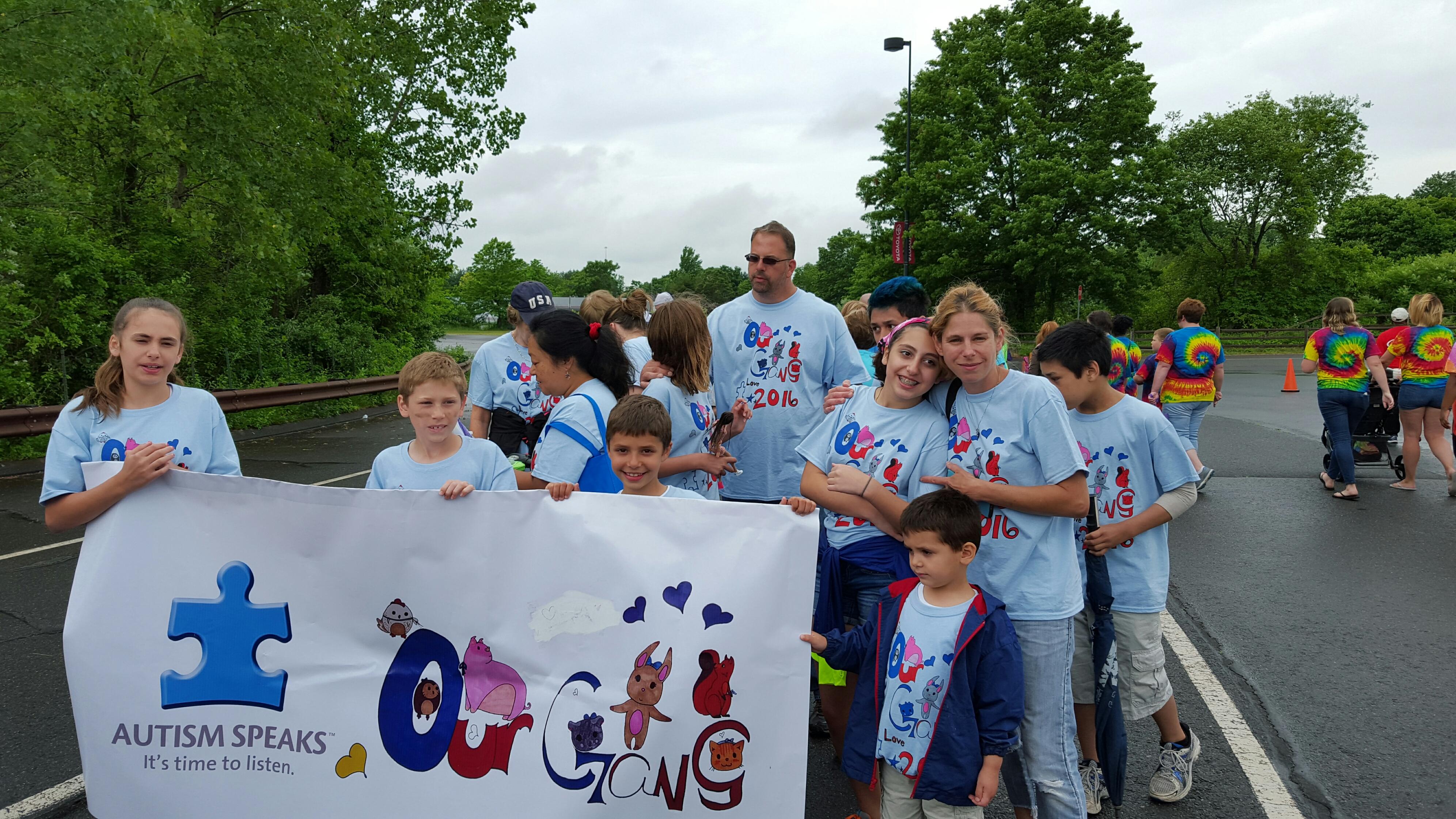 Shirt design tampa - Our Gang Autism Walk T Shirt Photo