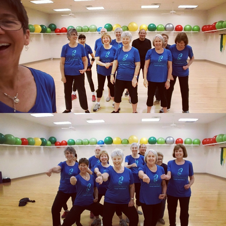 Our Custom Ink Tai Chi Shirts Make Us Happy! T-Shirt Photo