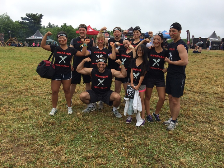 Spartan Sprint Race 2016 T-Shirt Photo