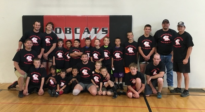 Wrestling Clinic Extravaganza T-Shirt Photo