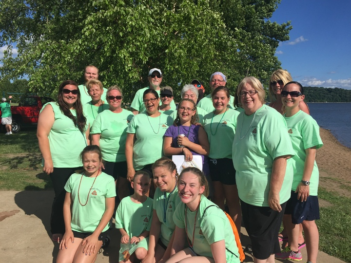 Anna's Army Taking Steps To Find A Cure For Crohn's And Colitis T-Shirt Photo