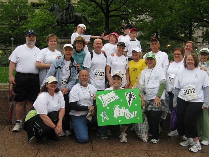 Race For Hope's Team Ginger T-Shirt Photo