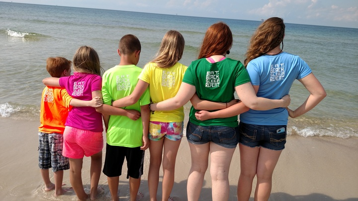Grandkids Gulf Shores 2016 T-Shirt Photo
