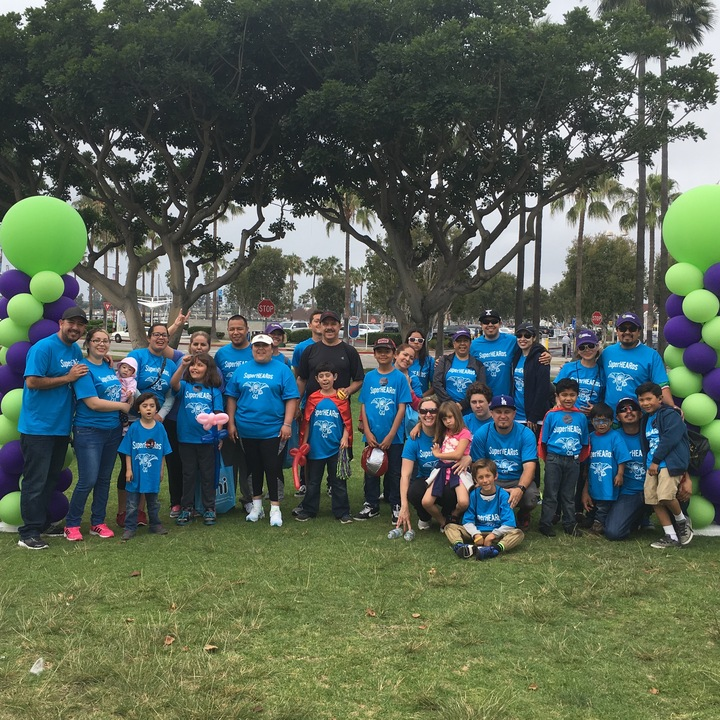 Super Hea Ros   Walk For Hearing 2016 T-Shirt Photo