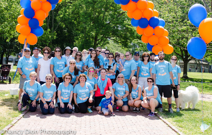 Boston Take Steps Walk 2016 T-Shirt Photo