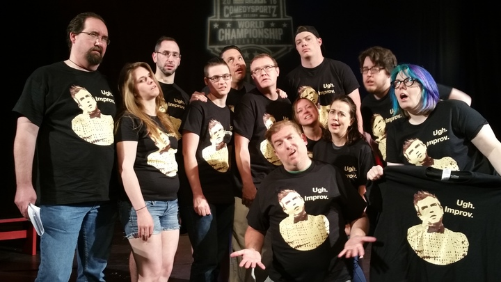 Ugh. Improv T-Shirt Photo