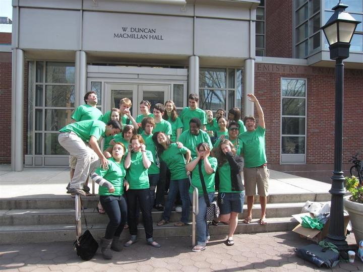 Goofing Off On Campus During An Envrionmental Workshops! T-Shirt Photo