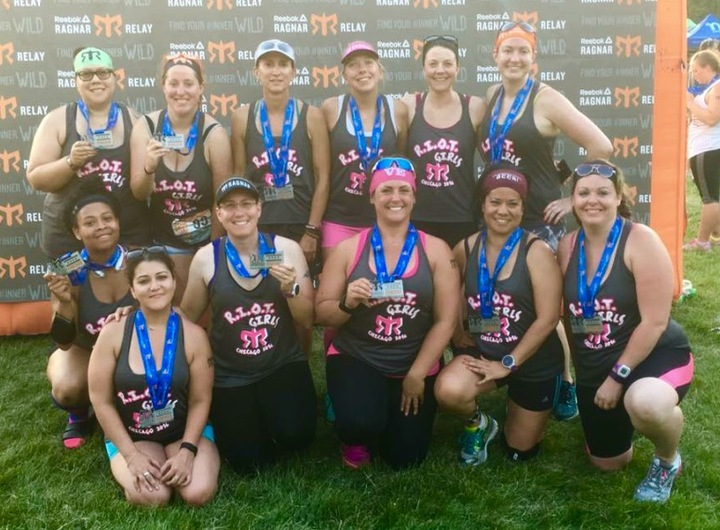 Riot Girls Ragnar Chicago 2016 T-Shirt Photo