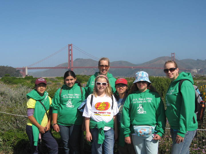 Girl Scout Bridging Event 2009 T-Shirt Photo