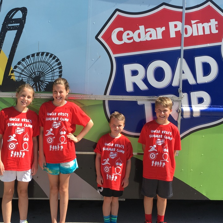 Uncle Eric's Summer Camp   Cedar Point Road Trip T-Shirt Photo