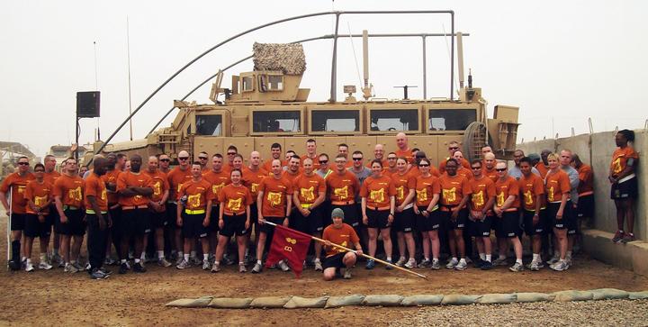 Iraq Cancer Run T-Shirt Photo