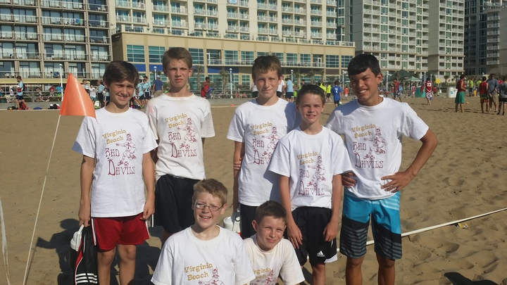 Virginia Beach Red Devils T-Shirt Photo
