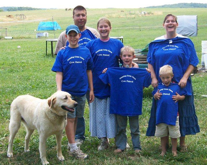 Cow Patrol T-Shirt Photo