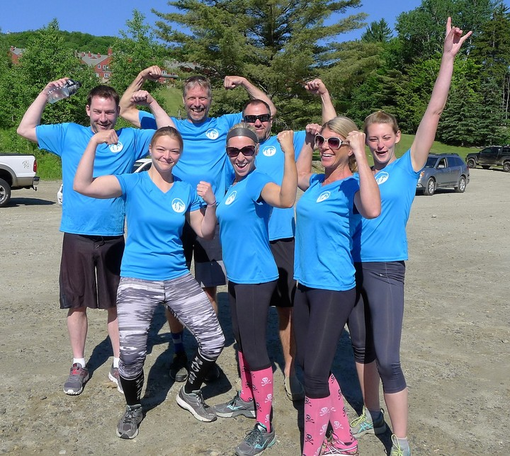 Just Before Mt Snow Tough Mudder T-Shirt Photo