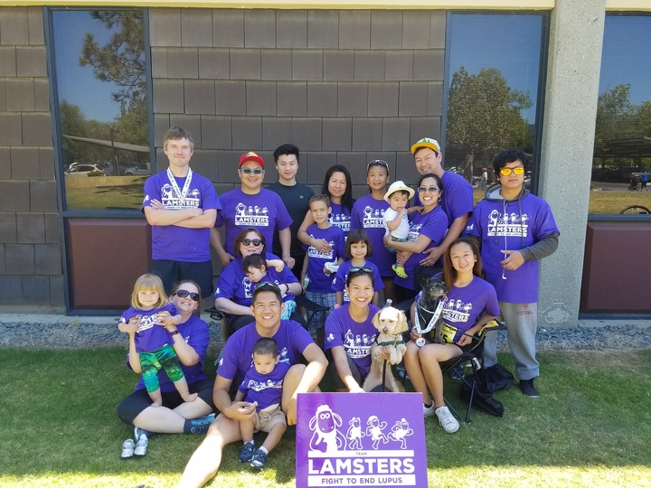 Lamsters Fight To End Lupus T-Shirt Photo