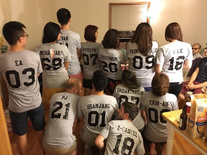 Team Spirit  T-Shirt Photo