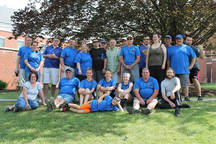 Blue Eaglers   Wellsboro, Pa 2016 T-Shirt Photo