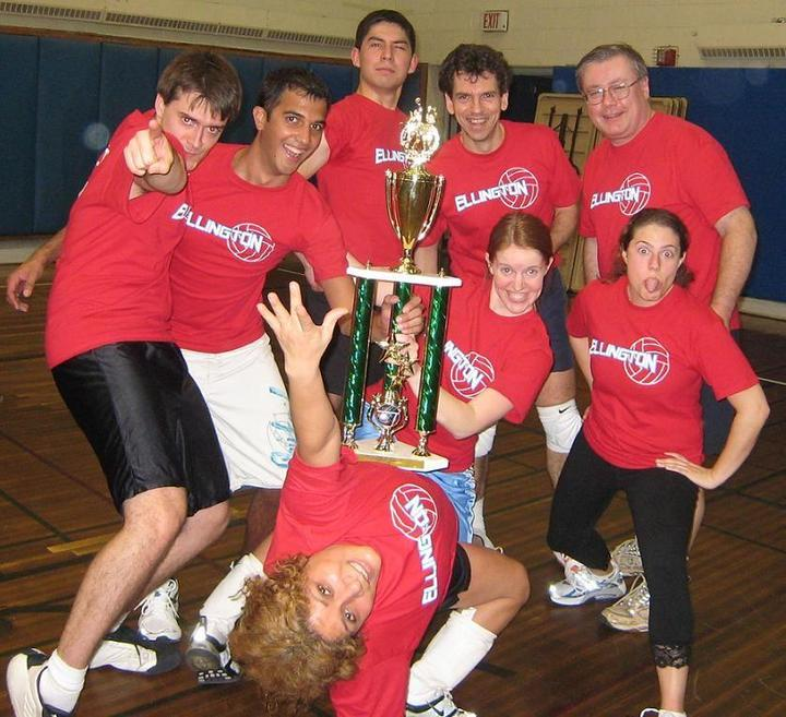 Triumphant Ellington Volleyball Team T-Shirt Photo