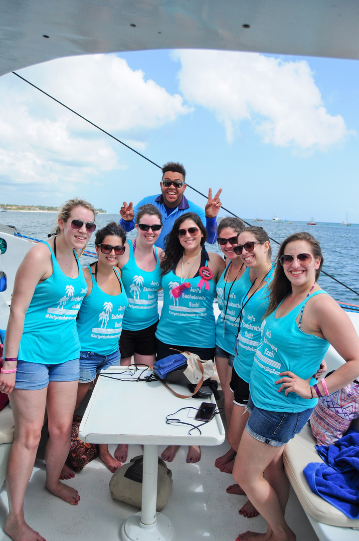 Bachelorette Boat Bash! T-Shirt Photo