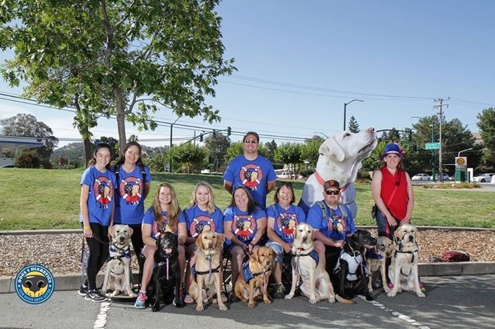Team Life Savers On Leashes At Dogs4 Diabetics 9th Annual Walk T-Shirt Photo