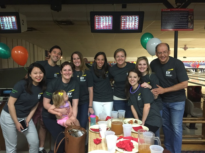 Ey Goes Bowling! T-Shirt Photo