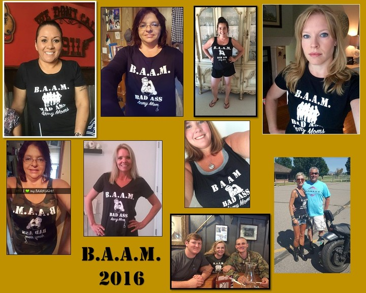 Our Bad Ass Army Moms T-Shirt Photo