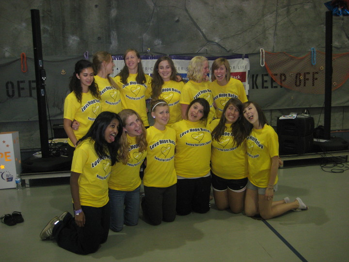 Relay For Life 2009 T-Shirt Photo