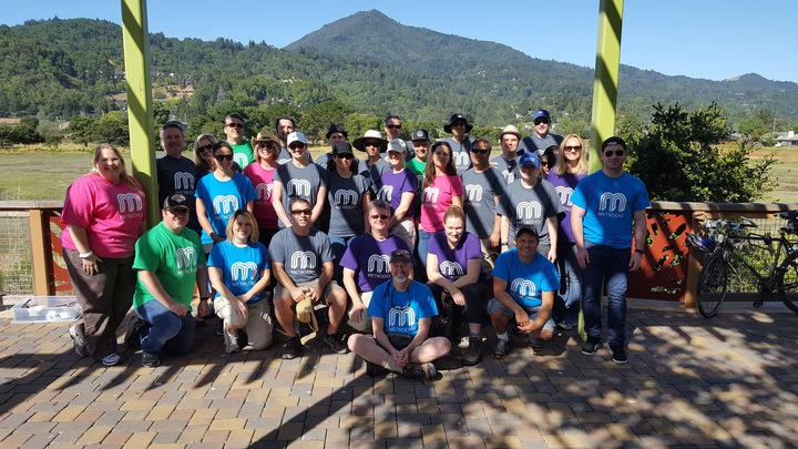 Metrodigi Team By Mt. Tamalpais (Marin County / Sf Bay Area) T-Shirt Photo