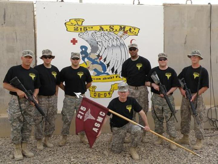 215th Asmc, Iraq T-Shirt Photo