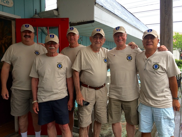 41+ Years Later   Army Baumholder Buds  T-Shirt Photo