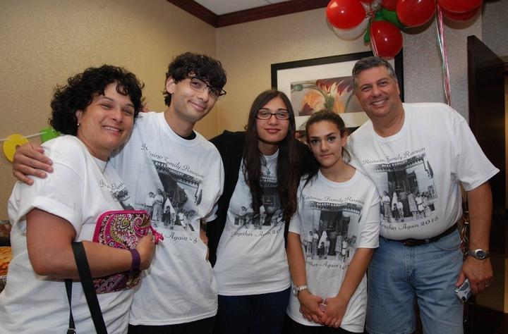 Restaino Family Reunion 2016 T-Shirt Photo