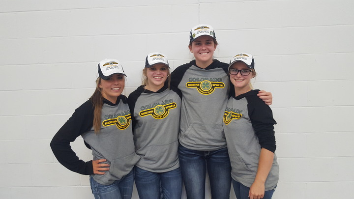 Colorado Air Rifle Team At Nationals T-Shirt Photo