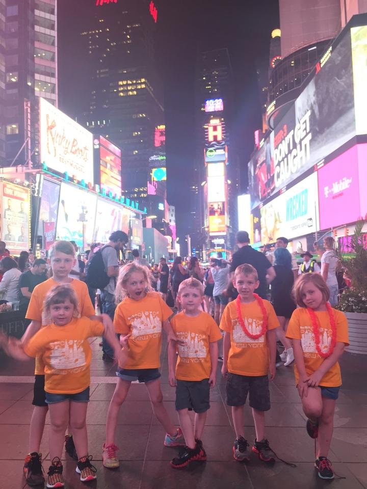 Times Square T-Shirt Photo