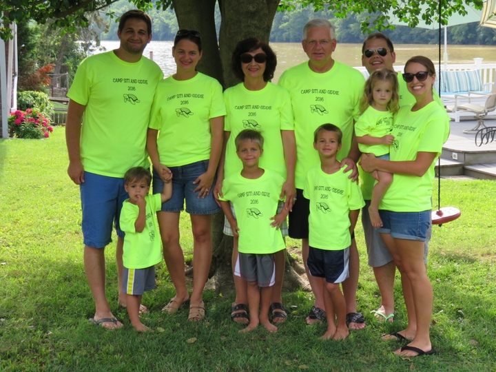 Summertime Fun At Grandma And Grandpa's T-Shirt Photo