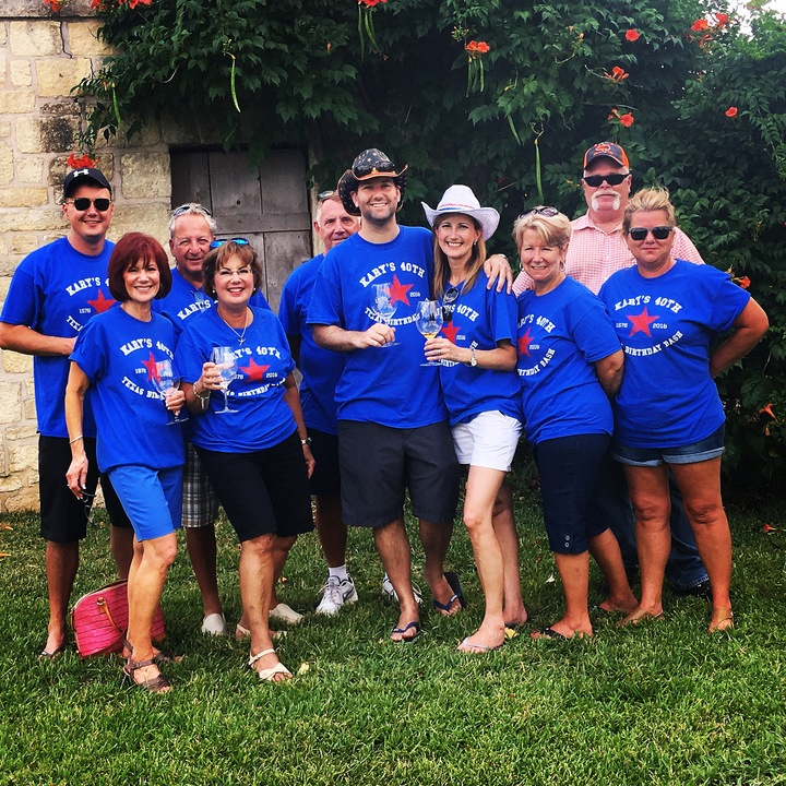 Kary's 40th  Surprise Texas Birthday Bash! T-Shirt Photo