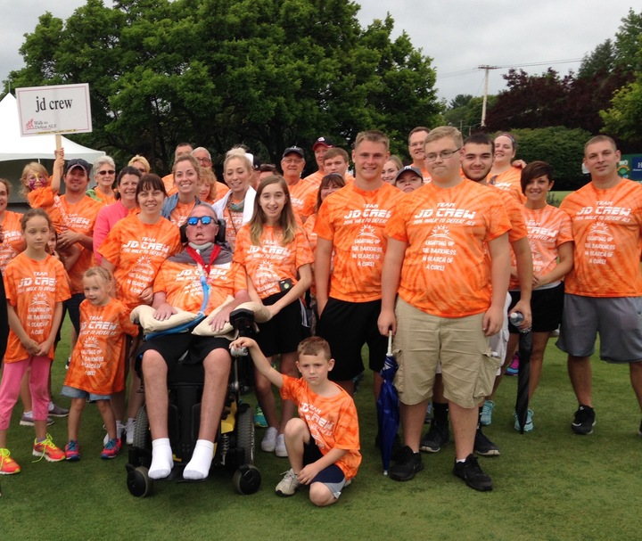 2016 Walk To Defeat Als T-Shirt Photo