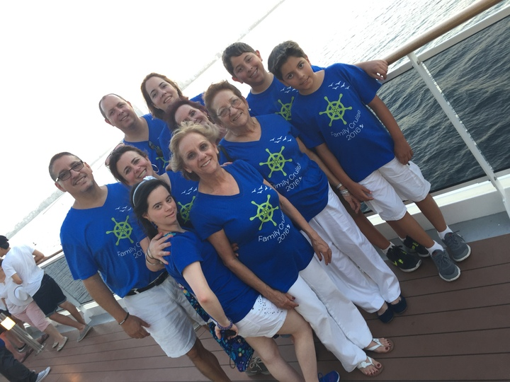 Cruising With The Fam T-Shirt Photo