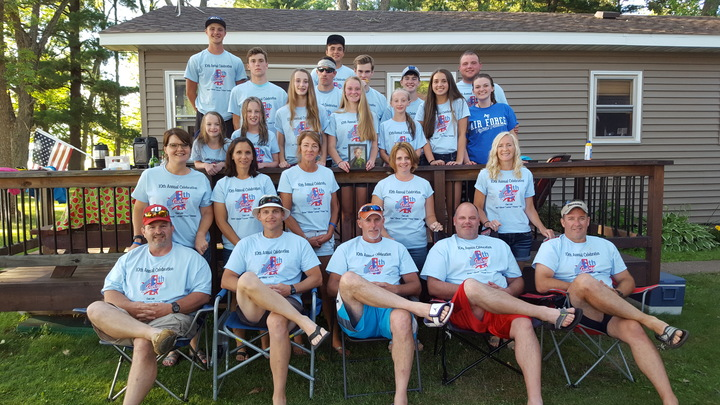 10th Annual 4th Of July Celebration On Clam Lake T-Shirt Photo