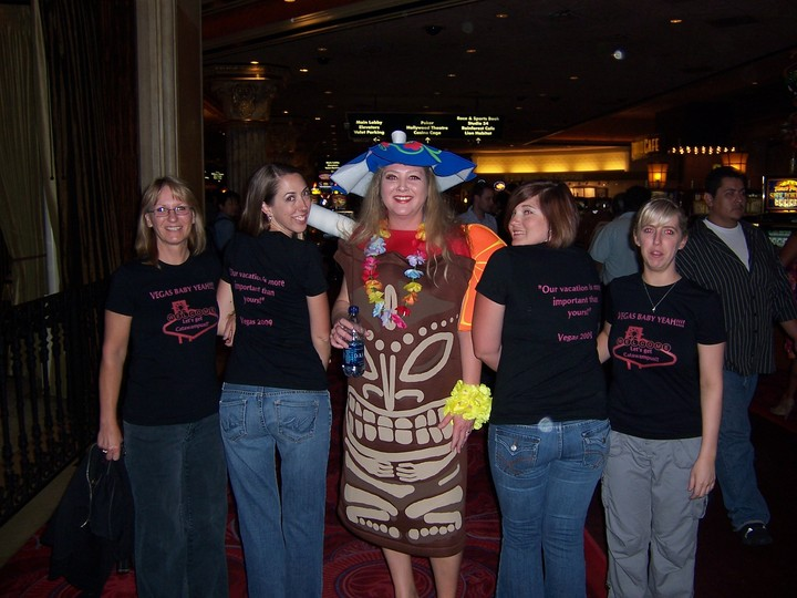 Ladies Vegas Trip 2009 T-Shirt Photo