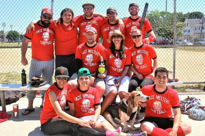 Face Melters Softball   Summer 2016 T-Shirt Photo