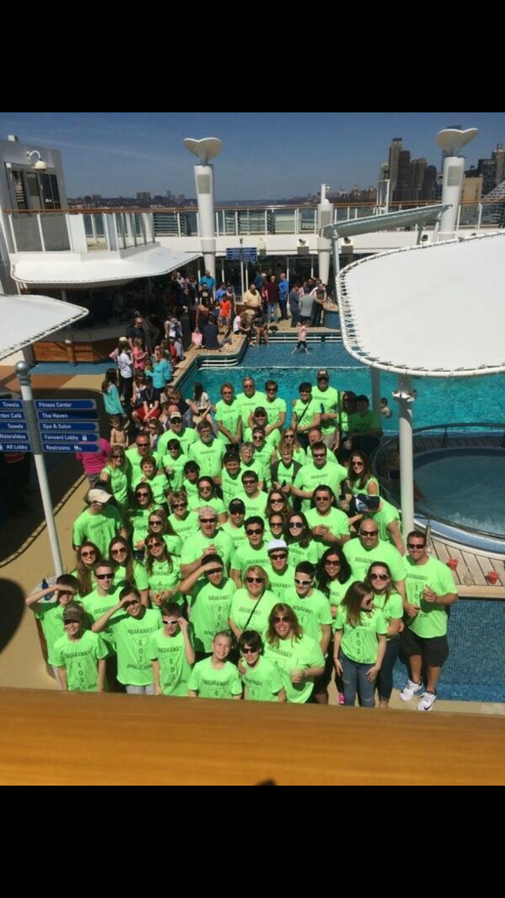 Derby's 2k16 Family Vacation T-Shirt Photo